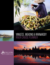 Yangtze, Mekong and Irrwaddy river cruise