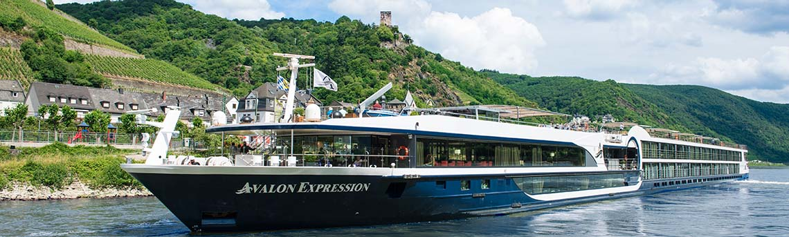 Avalon Ships Offer a Luxury River Cruise