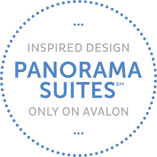 Panorama suites from Avalon Waterways river cruising