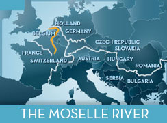 Cruise the Moselle River